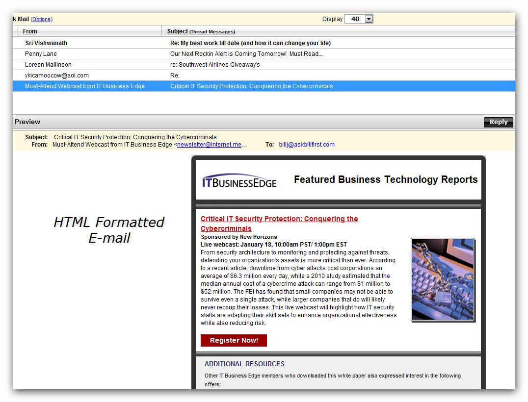 Email: Spam, Virus or Clean? | AskBillFirst - Non-Tech Speak