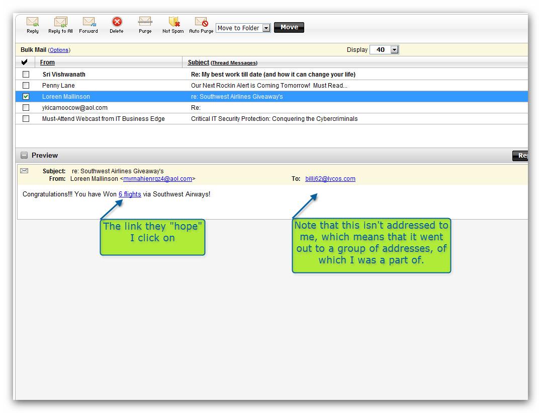 Email: Spam, Virus or Clean? | AskBillFirst - Non-Tech Speak ...